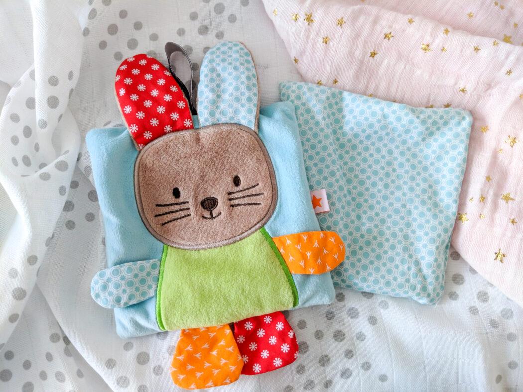 Fashy Wärmekissen Hase Holly für Baby und Kleinkind