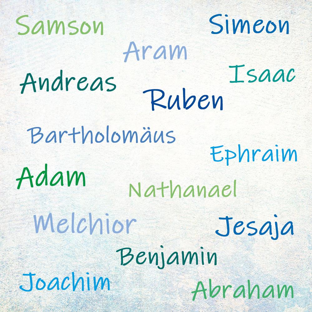 seltene jungennamen biblisch männer vornamen
