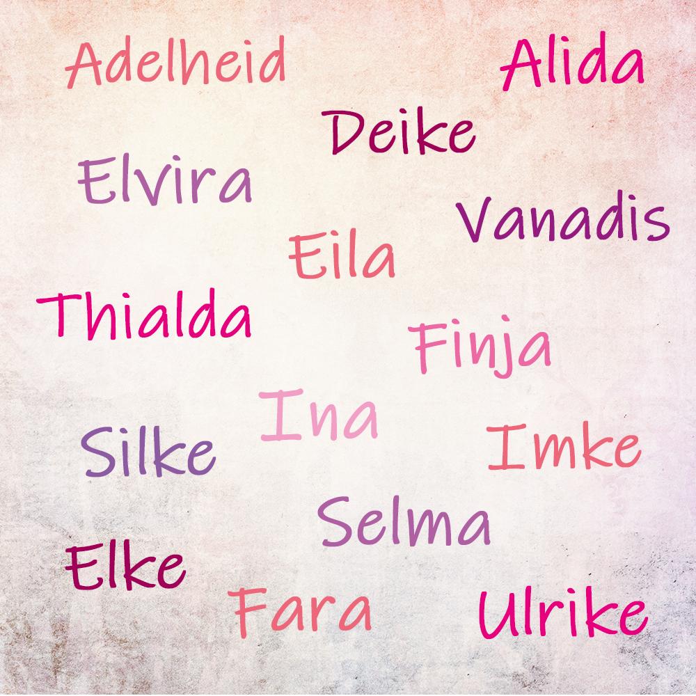 seltene mädchennamen germanisch namen frauen