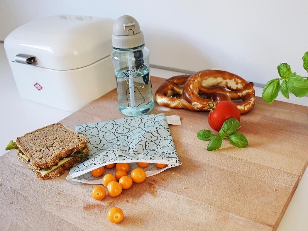 Lässig Frühstücksbeutel wiederverwendbar snack bag nachhaltig