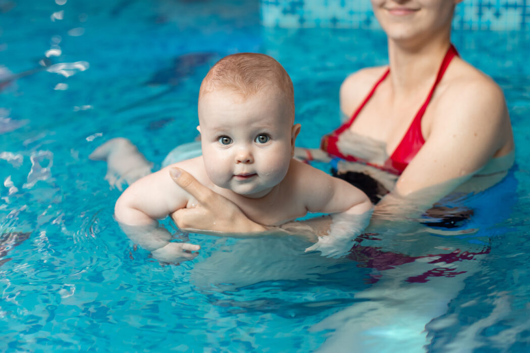 baby schwimmen sport
