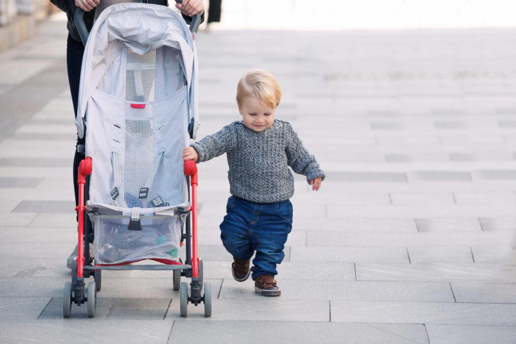 Kinderwagen oder Buggy - Wie lange braucht man Buggy