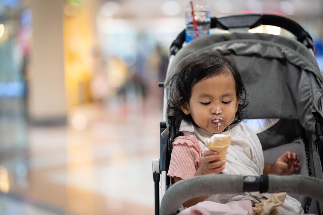 Kinderwagen reinigen - Sitzeinheit und Bezüge