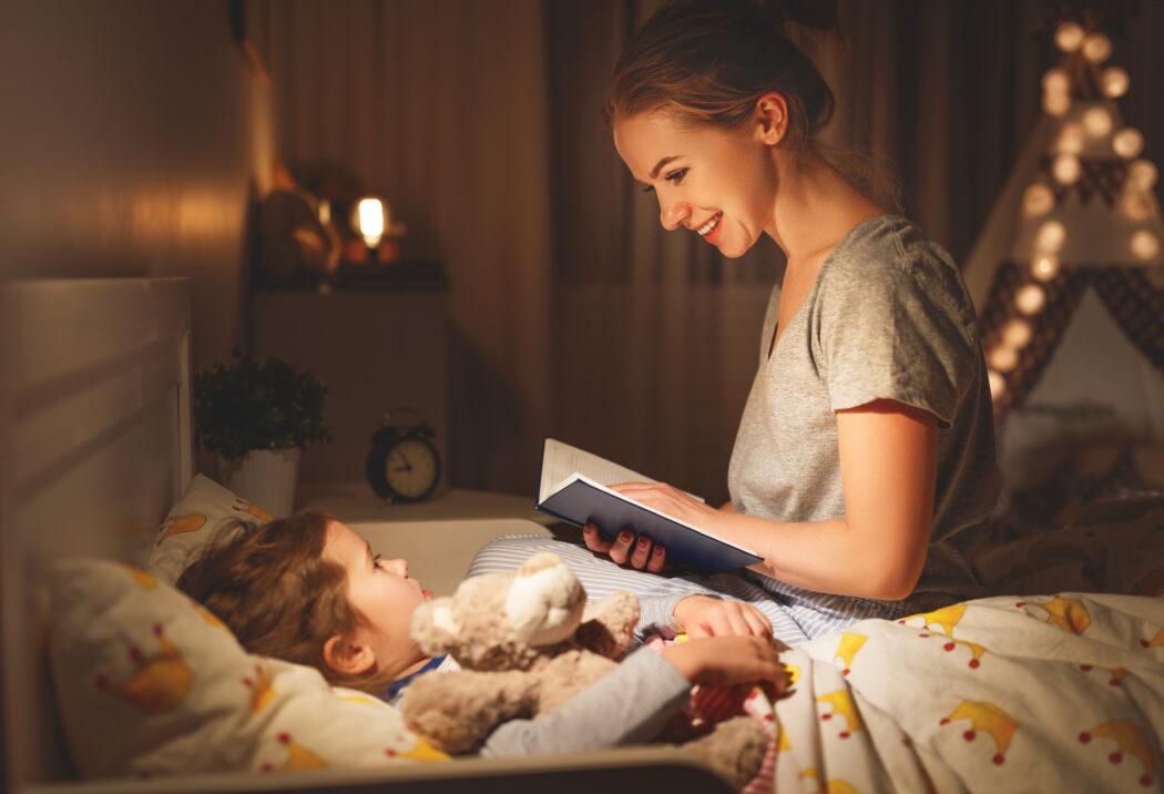 rituale alltag familie einschlafen vorlesen
