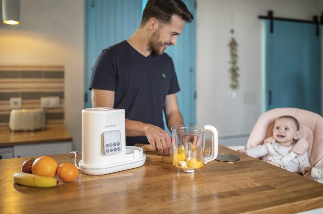 Miniland Chefy 6 Multifunktionsgerät Breizubereiter