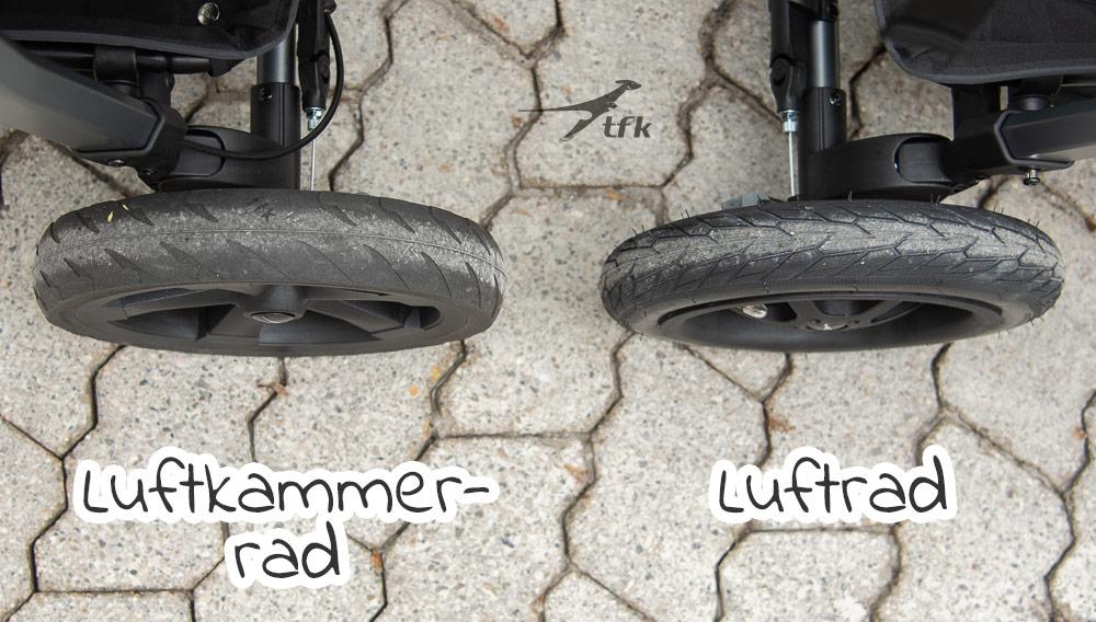 TFK Luftrad oder Luftkammerrad Vergleich