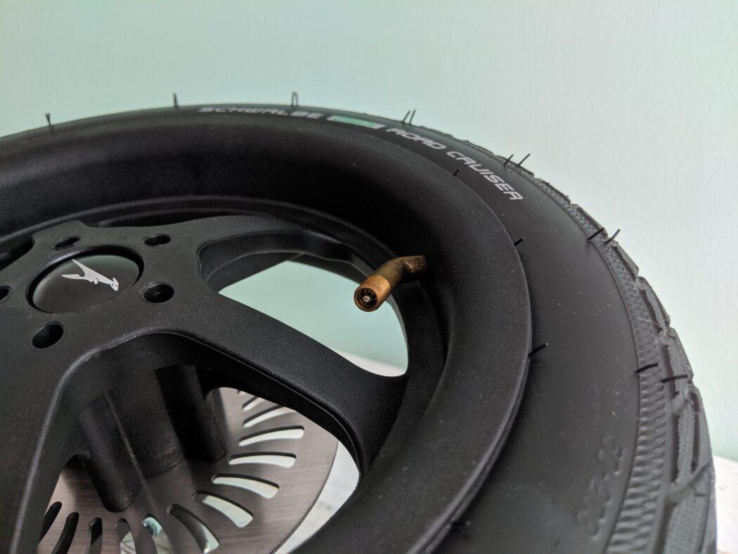 Detailansicht Ventil Luftrad TFK Mono