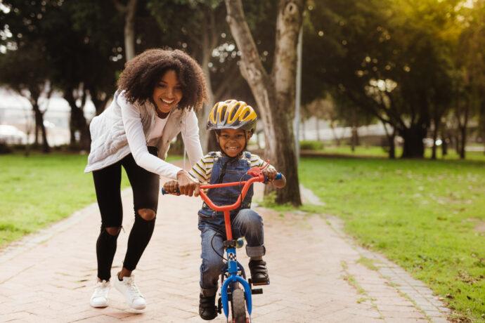 fahrrad fahren lernen radfahren beibringen kind kindern