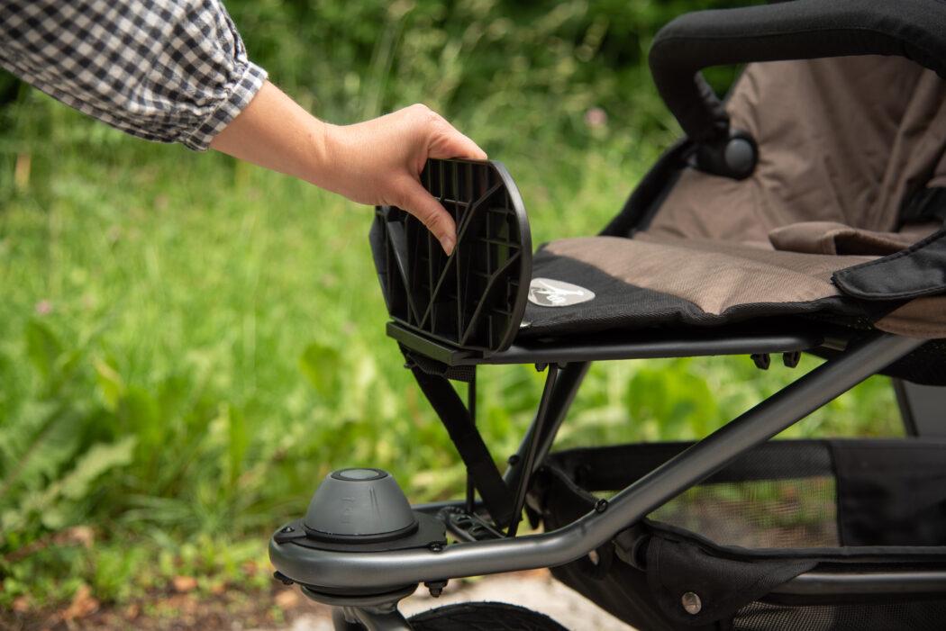 tfk Mono XXL Komfort-Sitz Fußstütze nach oben gerichtet