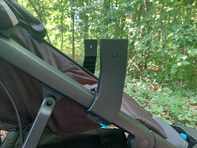 Adapter für Thule Urban Glide Bassinet am Gestell