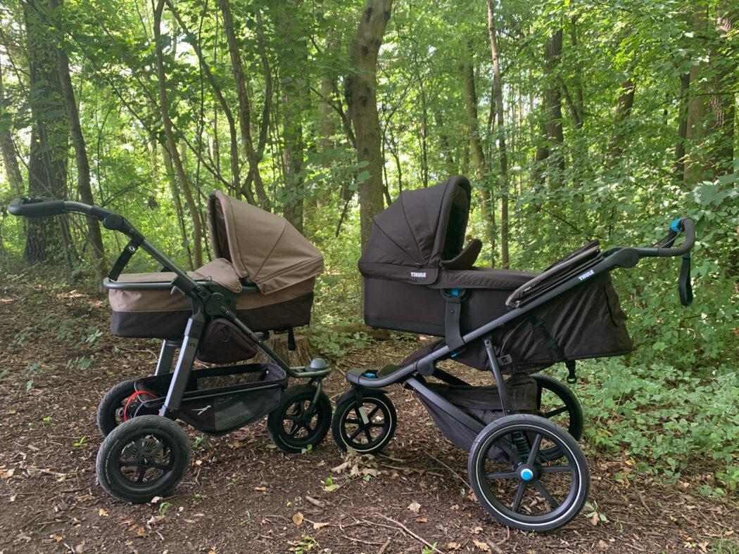 Babywannen tfk Mono und Thule Urban Glide