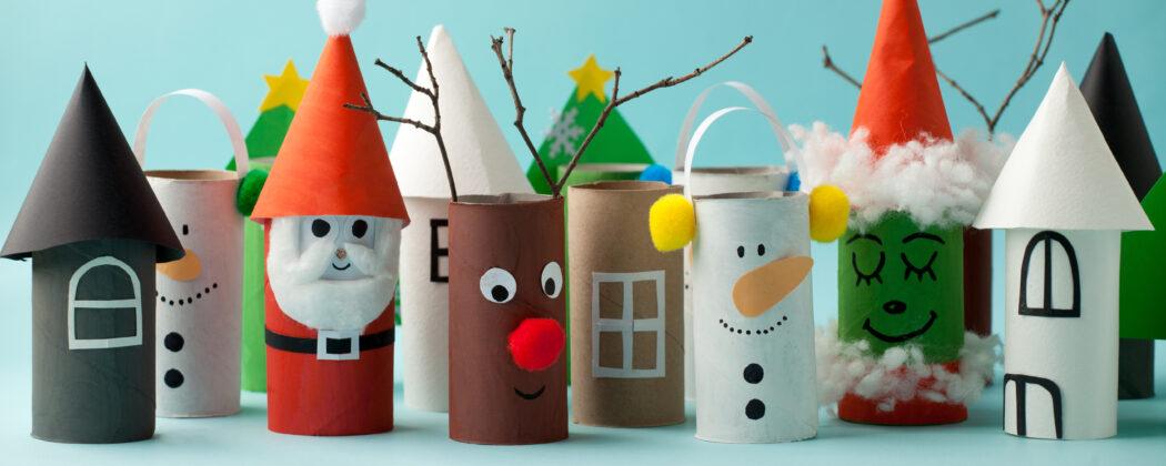 diy upcycling basteln weihnachten