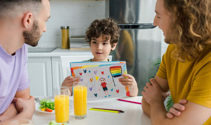 regenbogen familie gay eltern schwul