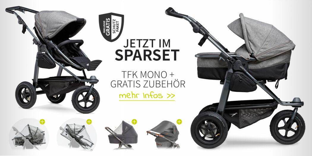 TFK Mono Sparset mit gratis Zubehör - Schutzpaket