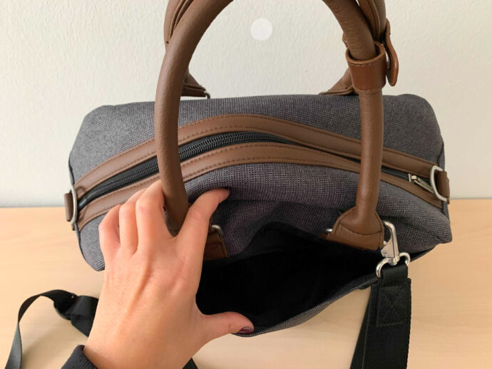 """ABC Design 2in1 Wickeltasche Wickelrucksack """"Explore"""" Außentasche hinten"""