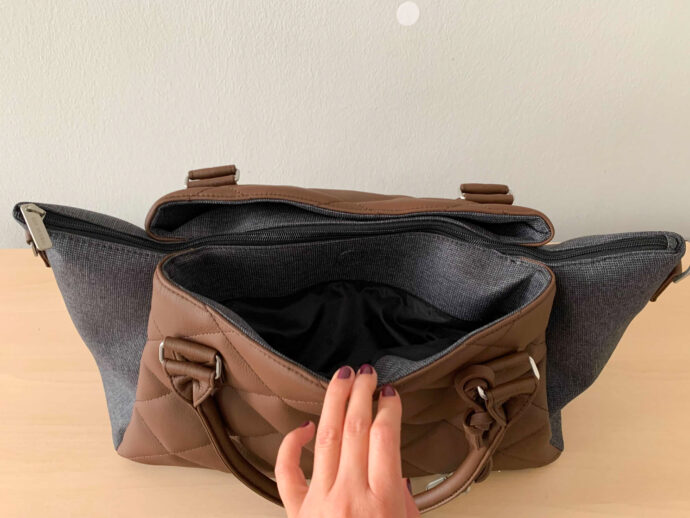 """ABC Design Wickeltasche """"Royal"""" Außentaschen vorne & hinten"""