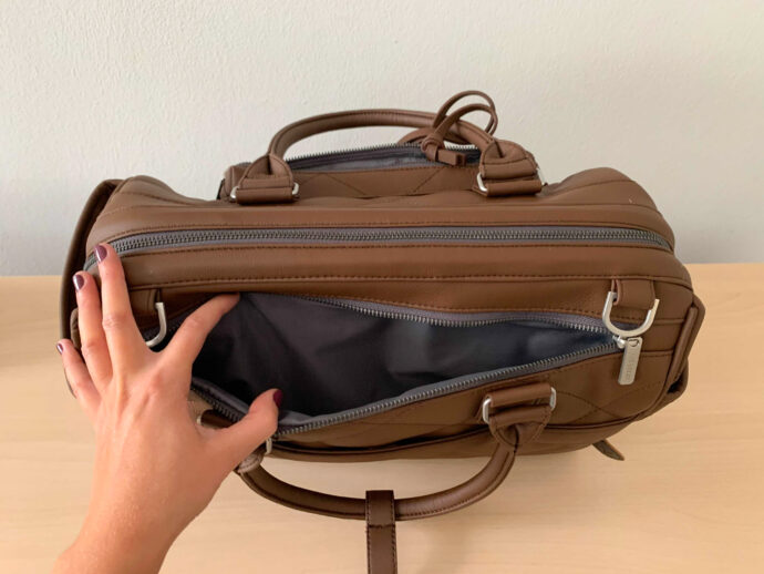 """ABC Design Wickeltasche """"Style"""" Außentasche hinten"""