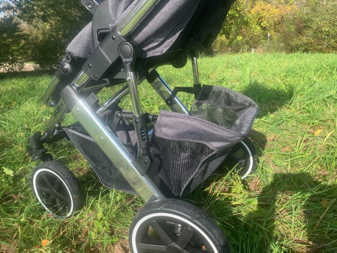 voluminöser Einkaufskorb ABC Salsa 4 Air Kombi-Kinderwagen