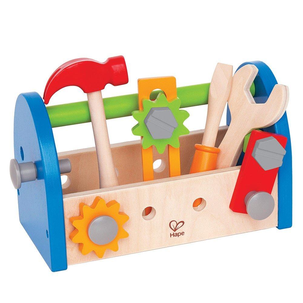 Werkzeugkasten Werkzeugkoffer Spielzeug aus Holz weihnachtsgeschenke