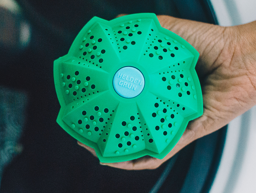 Heldengrün Waschball nachhaltig waschen ohne Chemie Öko