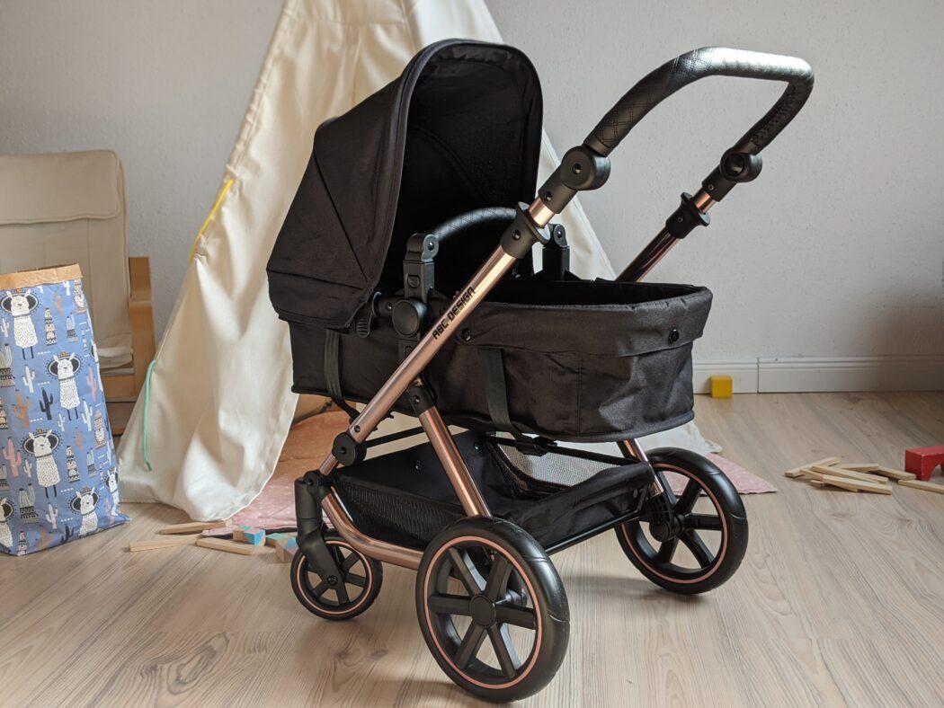ABC Design Puppenwagen Migno Testbericht Babywanne