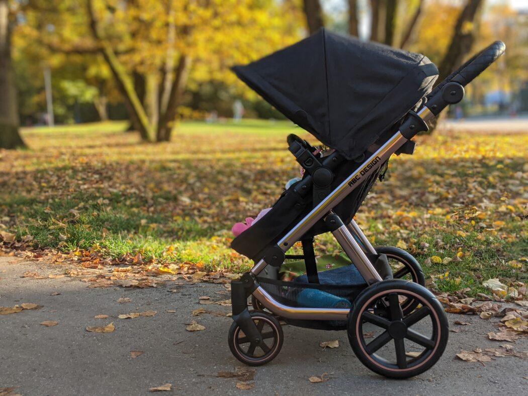 ABC Design Puppenwagen Migno Einkaufskorb Puppenbuggy Blickrichtung