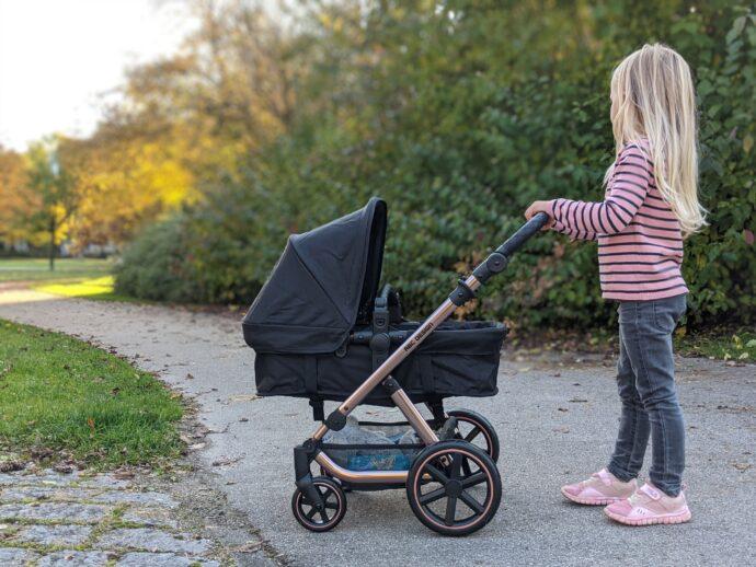 ABC Design Puppenwagen Migno rose gold Test erfahrungsbericht