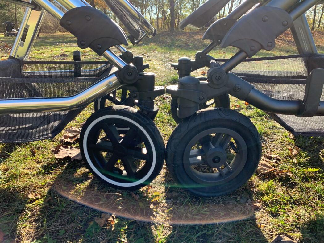 Vergleich Lufträder ABC Viper 4 Diamond vs. Viper 4