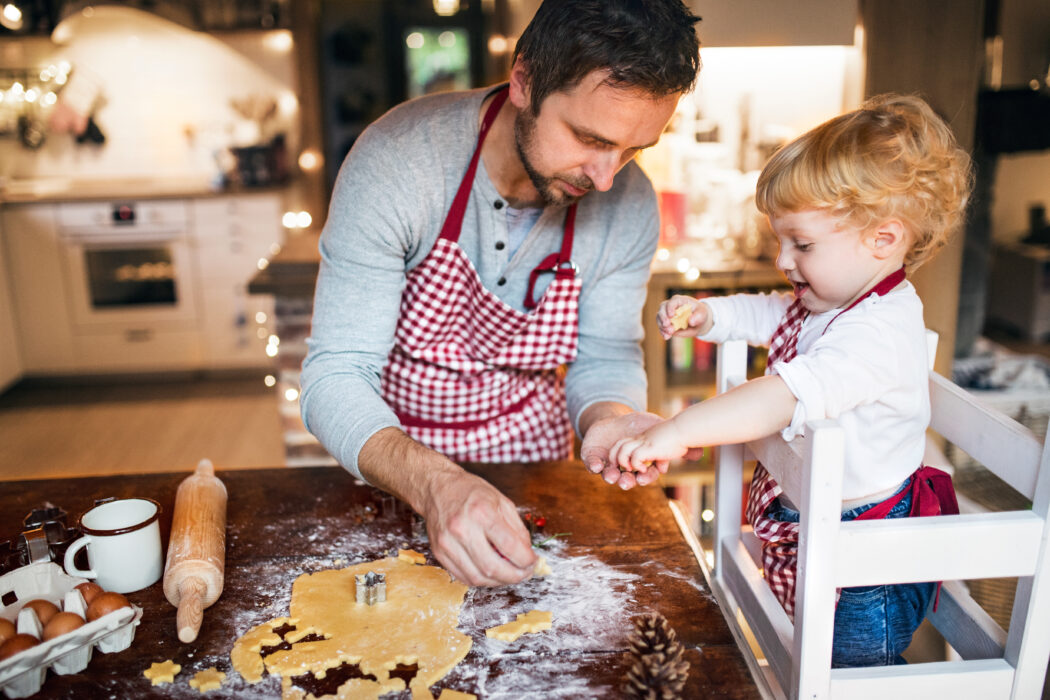 kekse backen mit kleinkind backen mit kind
