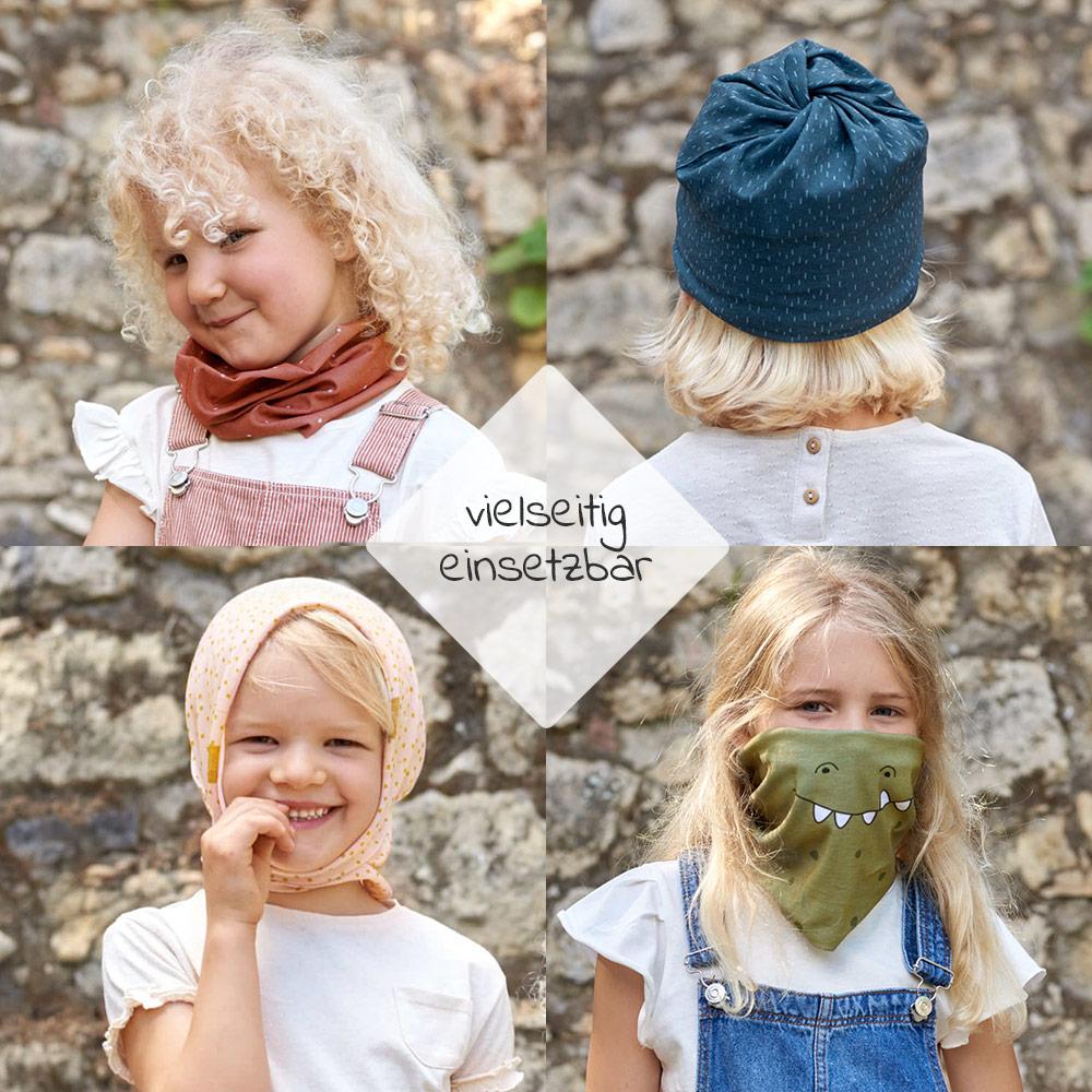 Flexi Loop Lässig Schlauchschal Mund Nasen Bedeckung Kleinkind