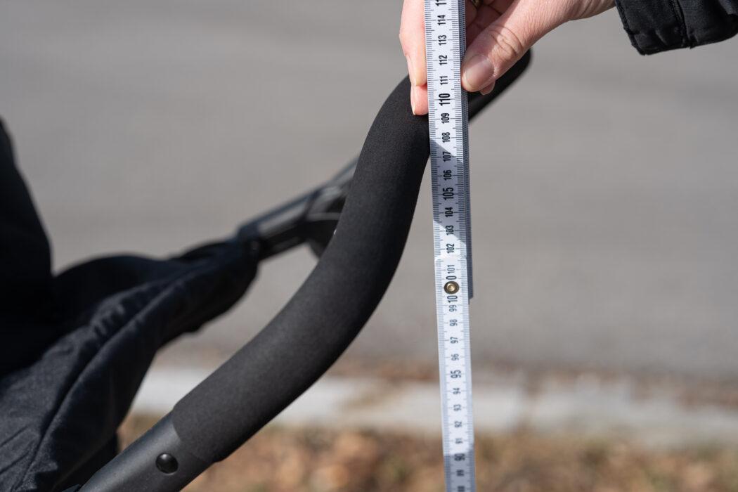 hauck runner 2 schiebegriff lineal 110 cm