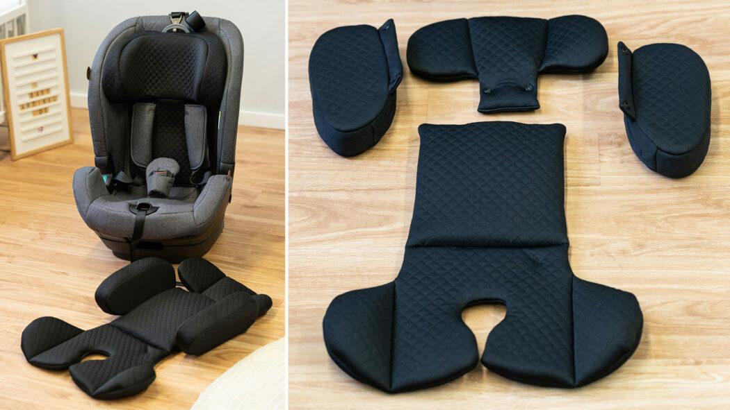 Kindersitz-Test Polster Aspen