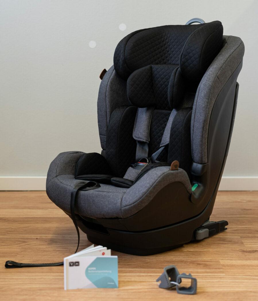 Kindersitz Aspen mit Zubehör
