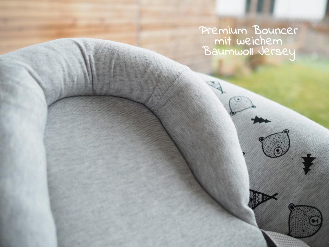 Hauck Alpha Bouncer Premium - sehr gute Stützfunktion für Babys Kopf