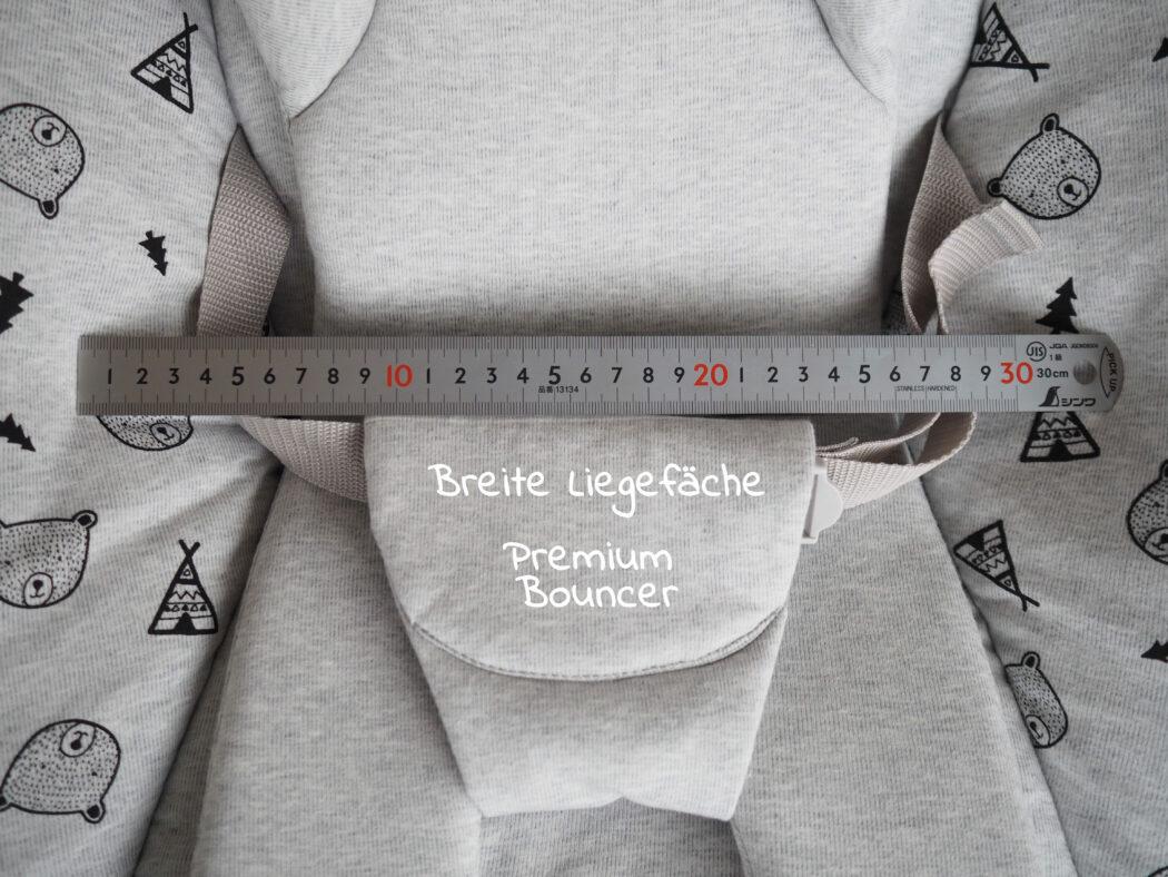 Hauck Alpha Newborn Aufsatz Premium - Sitzbreite