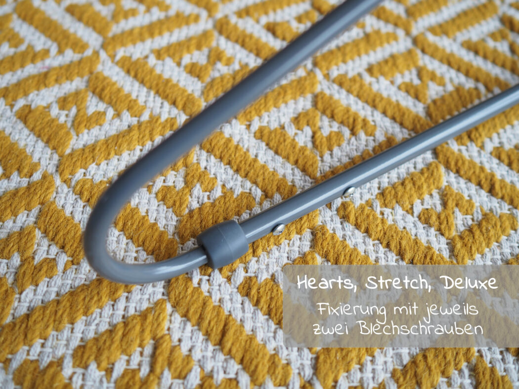 Hauck Alpha Bouncer Hearts, Stretch. Deluxe - Montage Gestell Schrauben