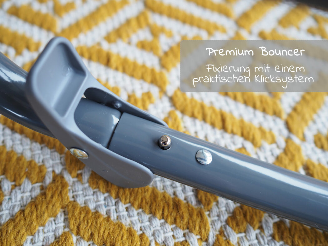 Hauck Alpha Bouncer Premium - Gestell mit Klicksystem