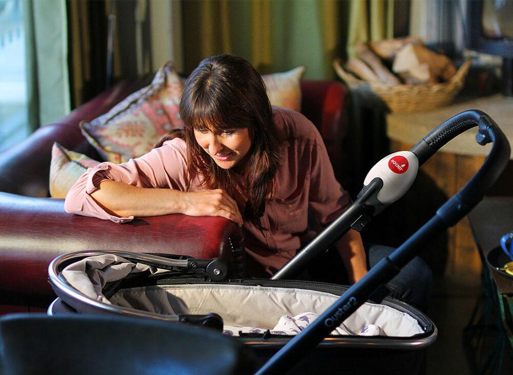 Einschlafhilfe Baby - Kinderwagenschaukler
