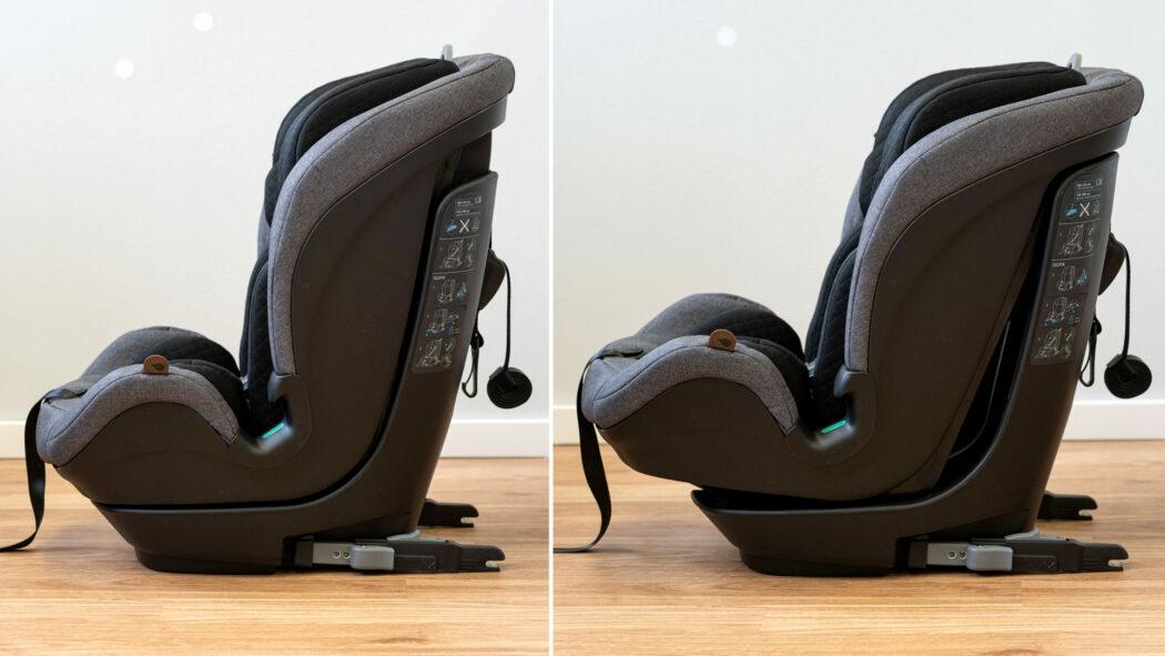 Kindersitz-Test Liegeposition im Vergleich
