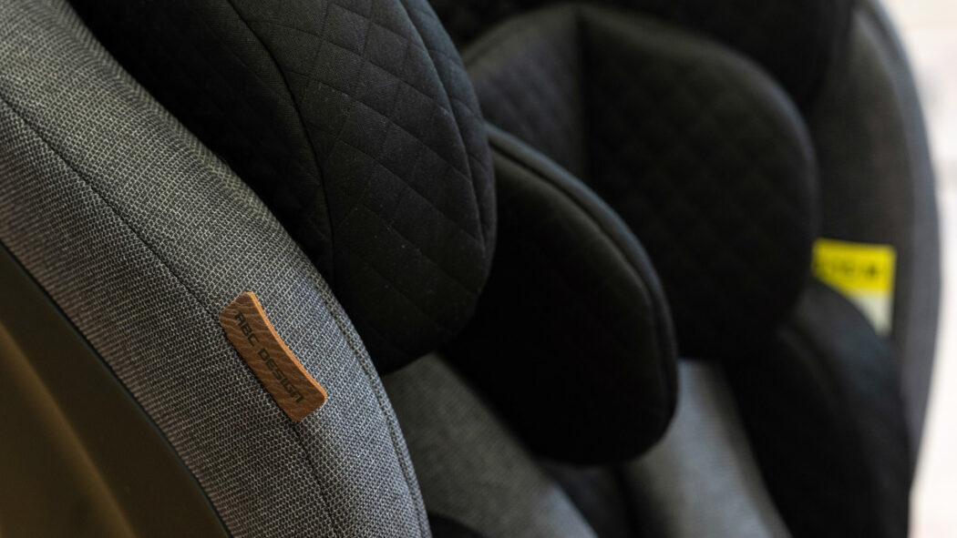 Kindersitz-Test Aspen Polsterung