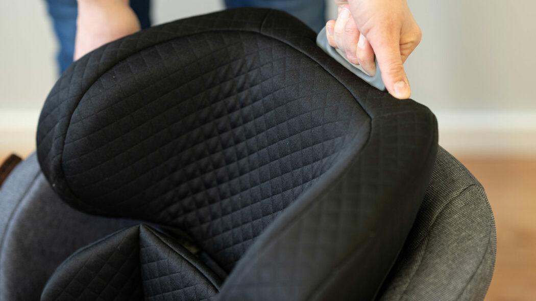 Kindersitz-Test mitwachsend verstellbar