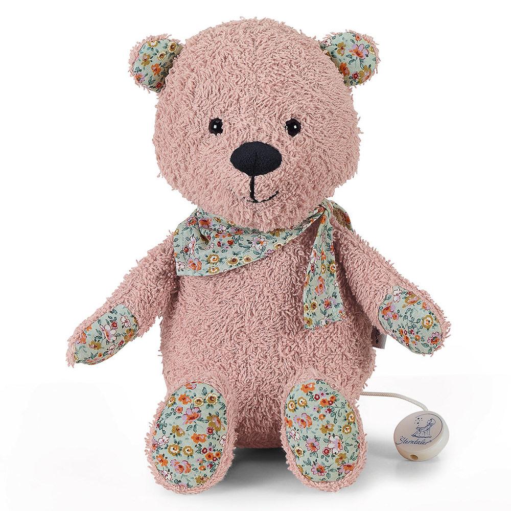 babyparty geschenke spieluhr teddybaer