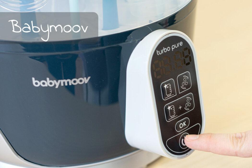 Tasten und Funktionen Babymoov, Baby Fläschchen Sterilisator