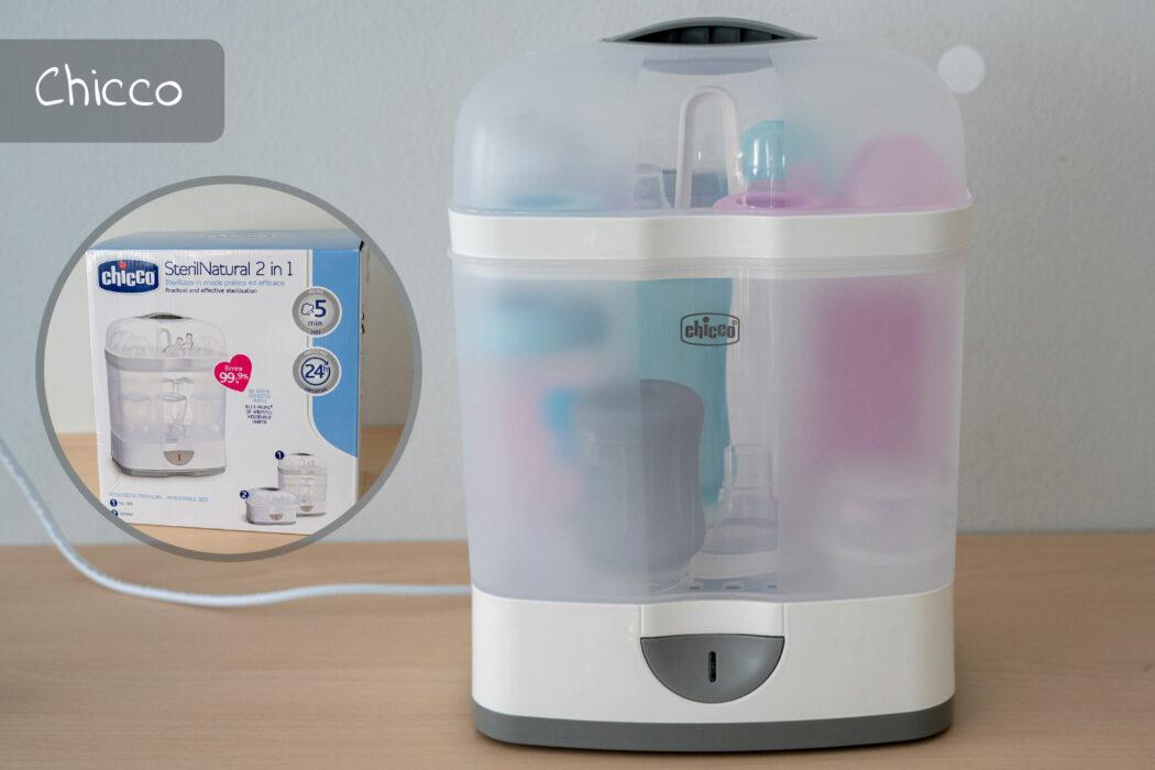 Vergleich Chicco Elektrischer Dampfsterilisator Steril Natural
