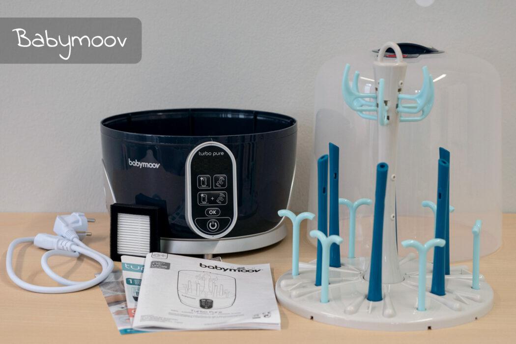 Test Babymoov Dampf-Sterilisator Turbo Pure