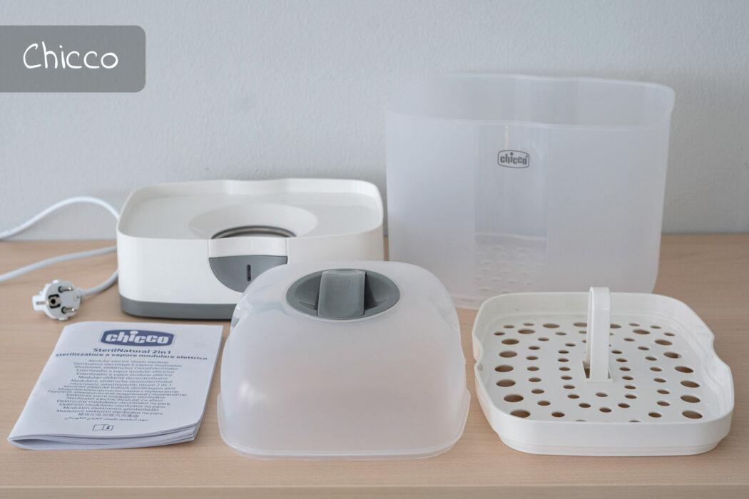 Test Chicco Elektrischer Dampfsterilisator Steril Natural