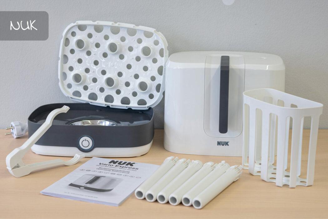 Test NUK Dampf-Sterilisator Vario Express