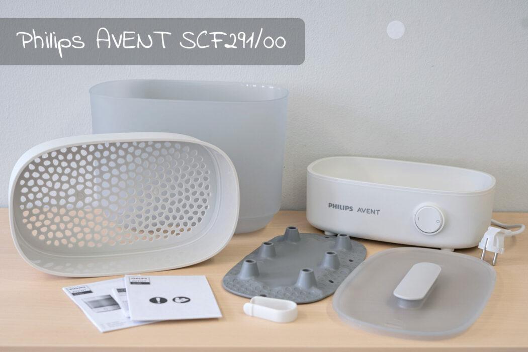 Test Philips AVENT Dampfsterilisator 2in1 SCF291/00