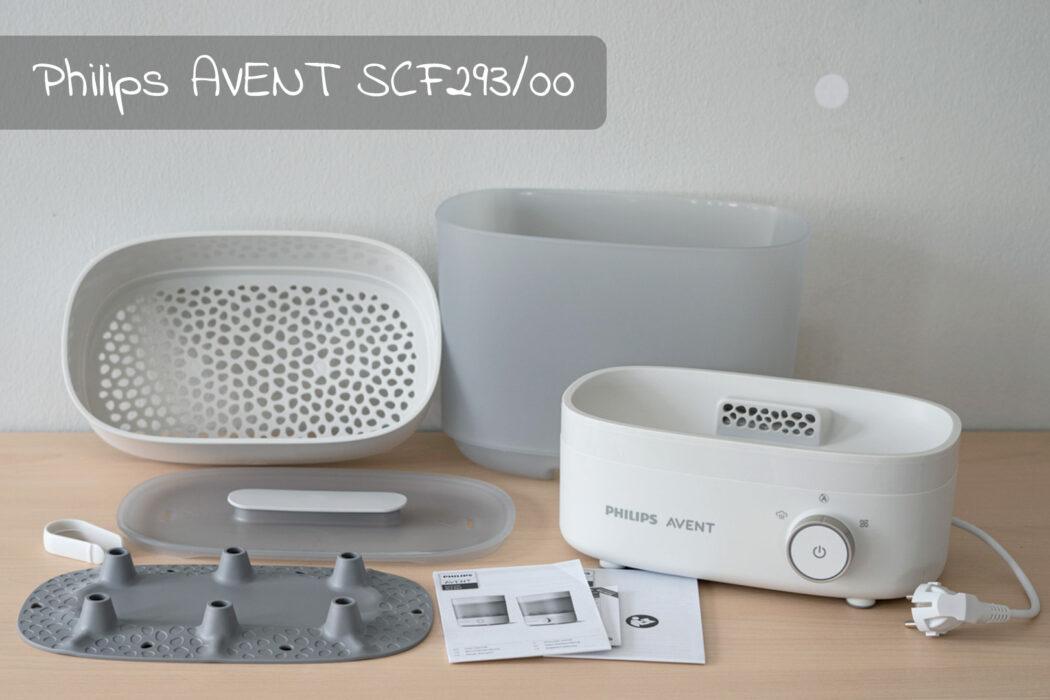 Test Philips Dampfsterilisator mit Trocknungsfunktion 3in1 SCF293/00