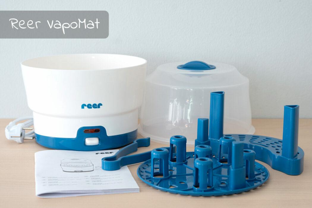 Test Reer Vaporisator VapoMat weiß blau
